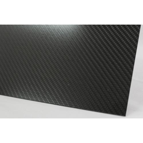 Carbon plastic plate 3K -...