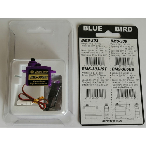 Серво Blue Bird BMS-306BB