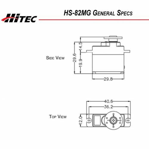 Servo Hitec HS-82MG