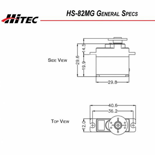 Серво Hitec HS-82MG