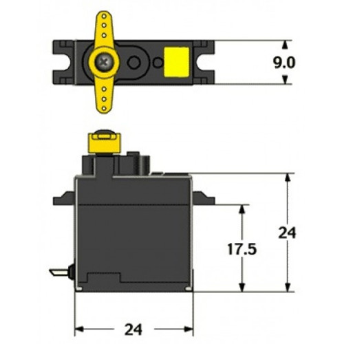 Servo Diamond D60
