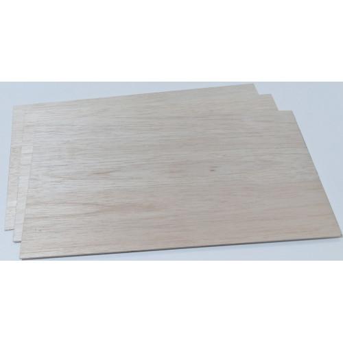 Balsa plywood
